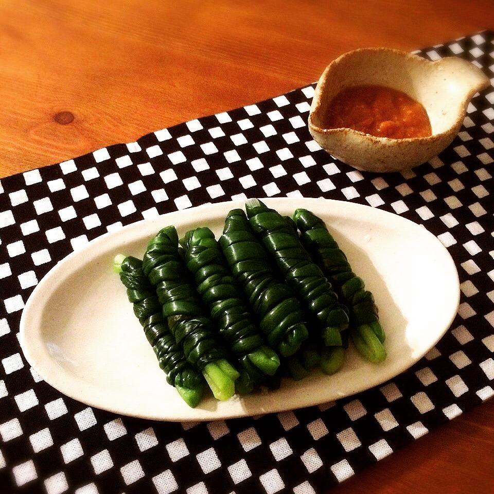 「ひともじぐるぐる」という熊本県の郷土料理を最近知り...