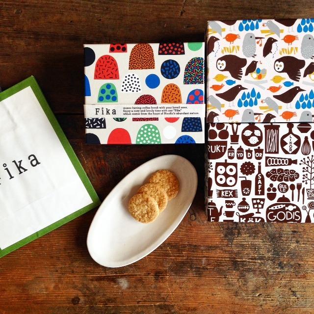 Fika一度見たら忘れられないかわいらしいパッケージ...