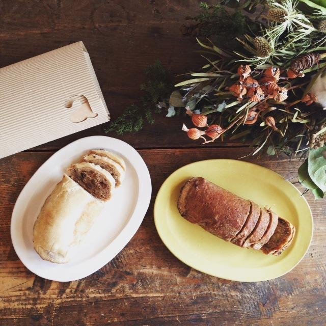 毎年12月のお楽しみ。去年のクリスマスには全粒粉と自...