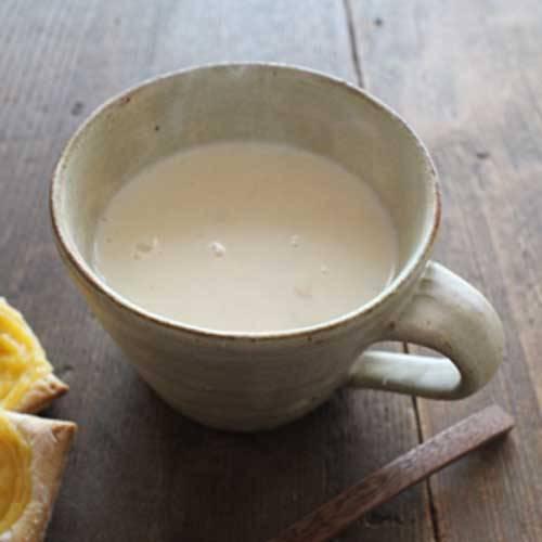 朝、手作りのスープを飲めると、それだけで幸せな気持ち...