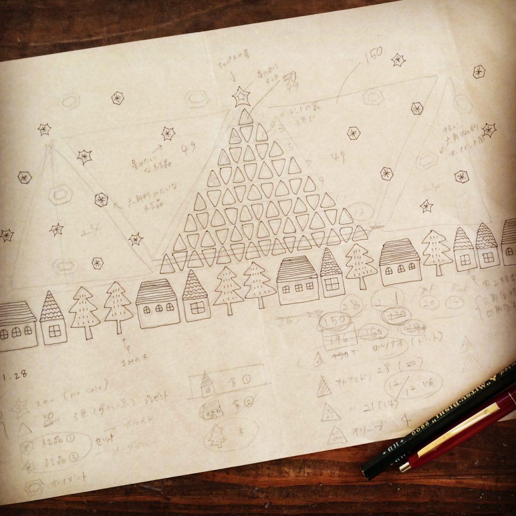約2カ月前のこと。今年はどんなクリスマスの器を作ろう...