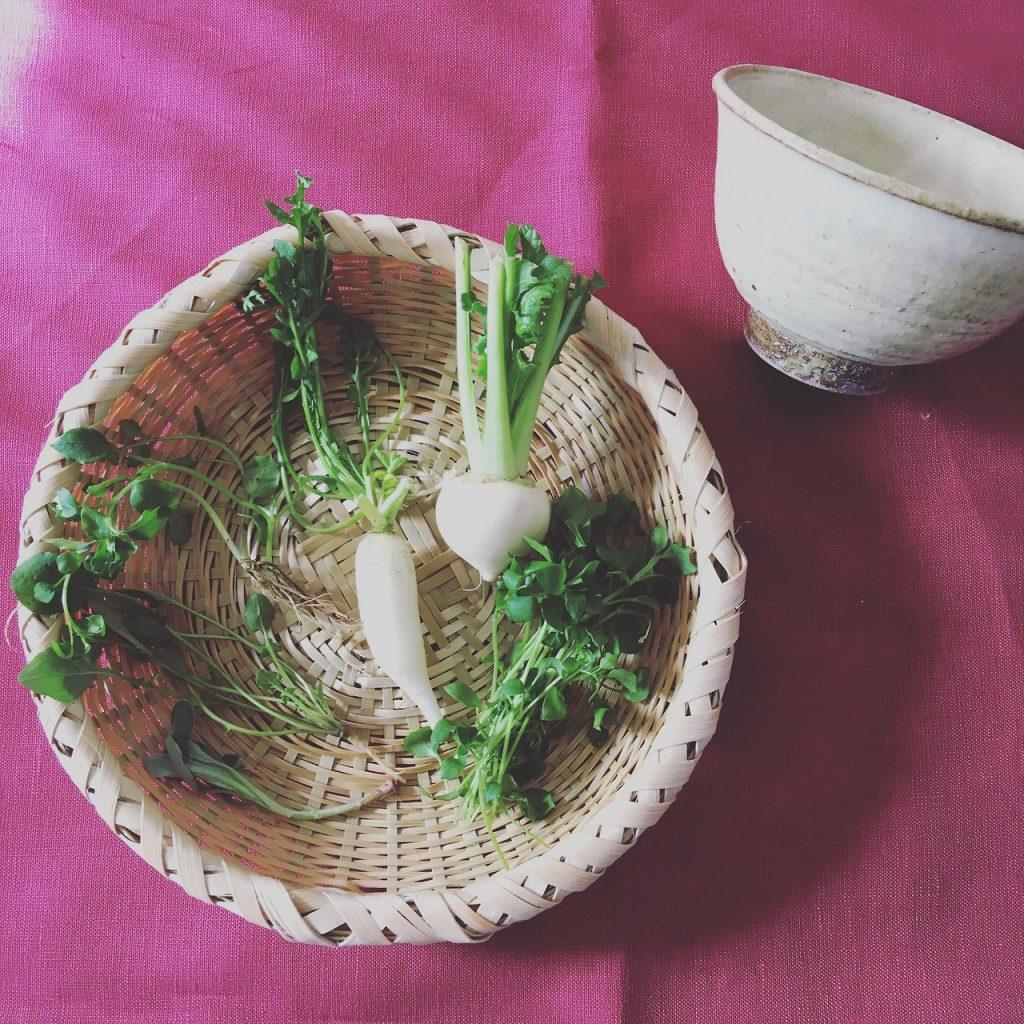 1月7日(日)は七草粥の日。