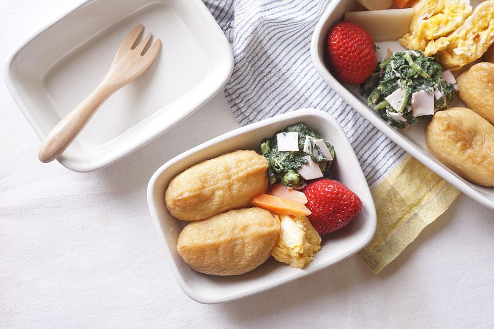 白いお弁当鉢 小