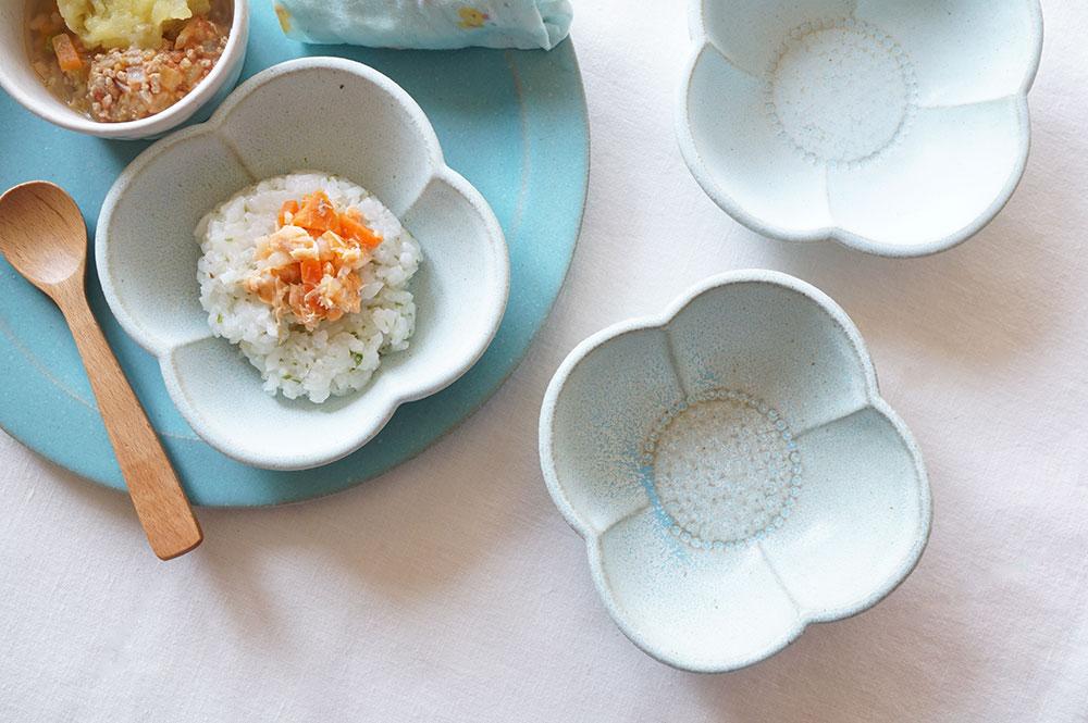 水色 花鉢
