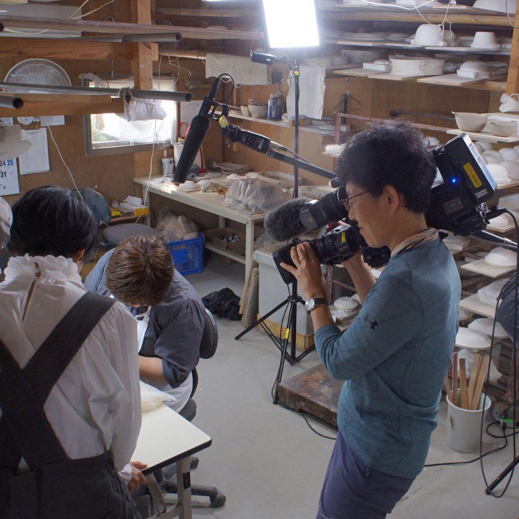 NHK BSプレミアム「イッピン」の撮影がありました!
